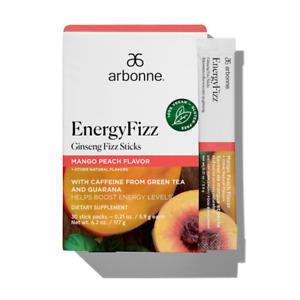 Arbonne EnergyFizz Ginseng Fizz Sticks - Mango Peach Flavor #2056