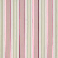 Clarke and Clarke Sage Deckchair Stripe Design Upholstery Curtain Craft Fabric