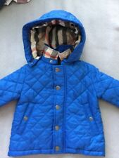 Authentic Burberry Quilted Coat- Size 6 Months