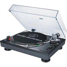 Audio-Technica AT-LP120BK-USB Direct-Drive Professional Record Player Black LN