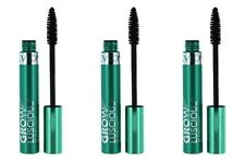 3 Revlon Grow Luscious Fabulash Mascara Enhancer Waterproof 821 Blackest Black