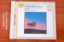 Beethoven - Symphonie 2 & 7 - Philharmonie Berlin - Karajan - CD Deutsche Grammo
