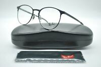 NEW RAY BAN RB 6375 2944 ROUND BLACK AUTHENTIC EYEGLASSES FRAMES RX 51-18