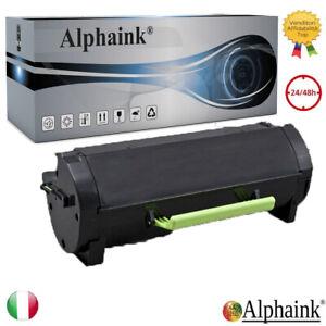Toner MX 310 Compatibile 60F2000 Lexmark MX 310DN 410DE 510DE 511 2500 COPIE