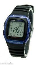 Casio W96H-2A Mens Alarm Chronograph Digital Sports Watch 10 Year Battery New