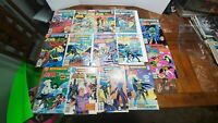 Lot of 14 DC Brave and the Bold 126 to 199 - Ungraded with bags and boarded