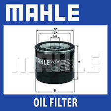 Mahle Oil Filter OC606 - Fits Ford Fiesta, Focus, Mondeo - Genuine Part