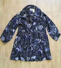 Womens The Masai Sheer Floral Viscose Open Front Tunic /Dress/Top, Size M, VGC !