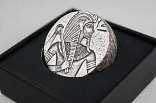 2016 5 oz Republic of Chad Egyptian Relic Series King Tut Silver Chunky Coin