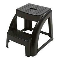 Step Stool Portable Utility Heavy Duty Plastic Chair Seat Non Slip Step Ladder