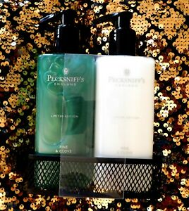 Pecksniff's Pine & Clove Hand Wash & Body Lotion Gift Set - Limited Edition