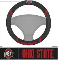 New NCAA Ohio State Buckeyes Universal Fit Car Truck Steering Wheel Cover