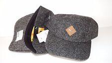 NWT NEW HAT CAP PUMA SPECKLED SIZE SNAPBACK ADJUSTABLE BLACK CHARCOAL 5 PANEL