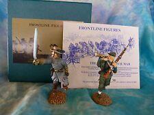 Soldats de plomb Frontline - Sécession (ACW) - ref ACI8 - Officier et clairon