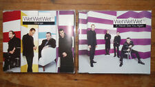 Wet Wet Wet¹º – 2 PROMO Maxi-CDs: →  If I Never See You Again & →  Strange