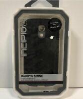 Genuine Incipio DualPro Shine Aluminum Finish Case For iPhone 5C