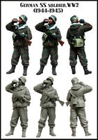 1:35 German SS SOLDIER WW2 High Quality Resin Figure Kit