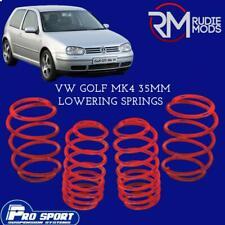 ProSport 35mm Lowering Springs for VW Golf Mk4  Authorised Dealer 120485