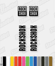 RockShox Logo Decal Set / Pack - Custom / Fluorescent Colours