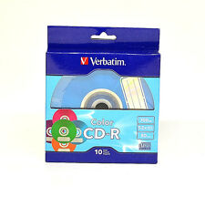 -Verbatim CR-R 7MB 52X With Color Branded Surface (10-pack)