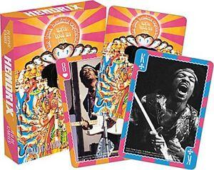 Jimi Hendrix Set of 52 Playing Cards + Jokers (nm)