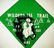 BOY SCOUT  WILDERNESS TRAIL  1964 POLAR BEAR HIKE  N/C    MICH