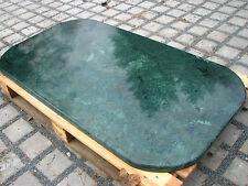 Tischplatte Marmorplatte Couchtischplatte Esstischplatte Naturstein grün Tisch