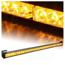 "35"" 36"" 32 LED Emergency Traffic Advisor Light Bar Flash Strobe Amber Yellow"