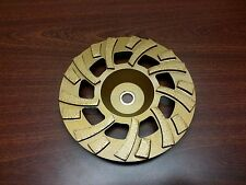 "7"" Diamond Grinding Wheel Fan Style for Floor Prep or Mastic Glue Removal"