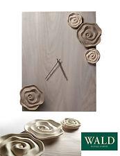 Orologio da parete rettangolare, shabby, contemporaneo, legno+grès, Wald design