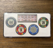 Fitzgerald's Nevada Club Reno Hoard 1976 First Issue Certified Casino Chips