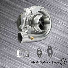 T3/T4 TO4E TURBO CHARGER .63 A/R T3 TURBINE 4 BOLT INLET /5 BOLT EXHAUST FLANGE