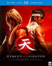 Street Fighter: Assassins Fist (Blu-ray Disc, 2014, 3-Disc Set)