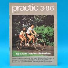 DDR practic 3/1986 Tandem Drachenbau Wurfscheibe Lichtkasten Hydrogefäße B