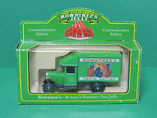 Lledo camion Rowntree's Jelly Promotional & Commemorative diecast lorry model
