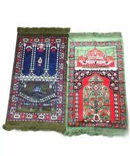 Prayer Mats Rugs Lightweight Kneeling Green Tapestry Carpet Tassel Edges
