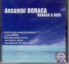KLAPA ANSAMBL Bonaca u dusi CD Sibenik Dalmacija Sibenska noc Dalmatinske suze