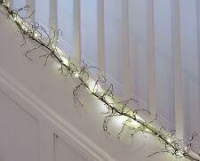 Crème de perles fil garland wbattery lumières aussi décoration de table de noël ou mariages