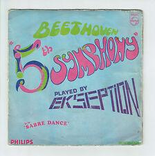 """EKSEPTION Vinyl 45 tours 7"""" 5TH SYMPHONY - SABRE DANCES -PHILIPS 334686 F Reduit"""