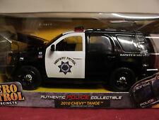"""Jada 2010 Chevrolet Tahoe """"Highway Patrol"""" NIB 2011 release Hero Patrol 1/24"""