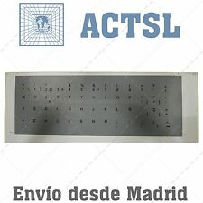 5 x Pegatina Sticker Teclado Español Portatil Laptop Gris spanish keyboard