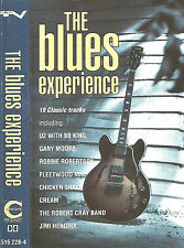 Various ‎The Blues Experience CASSETTE ALBUM Gary Moore Hendrix Cream Blues Rock