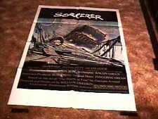 SORCERER MOVIE POSTER WILLIAM FRIEDKIN 1977