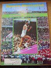 21/10/1968 Sports Illustrated Magazine:  Vol 29 - No 17 - (Cover Content) Olympi