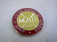 MARX TOYS VINTAGE LOGO PIN HAT LAPEL PIN GIFT IDEA