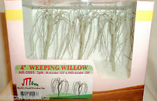 """JTT SCENERY 94123 PROFESSIONAL SERIES 4"""" WEEPING WILLOW TREE ARMATURES 3/PK HO"""