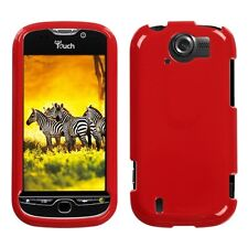 Flaming Red Hard Case Phone Cover HTC myTouch 4G Slide