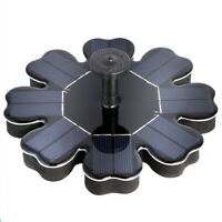Submersible Solar Powered Floating Fountain Garden Pool Pond Water Pump Tank AU