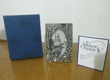 MASJ ©1996 Boxed MUSIC FAIRIES SILVER SCENES Silver Plated Frame RARE!