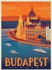 "Retro Budapest Hungary Vintage Travel Photo Fridge Magnet 2""x 3"" Collectibles"